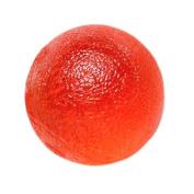 Fabrication Enterprises 10-1492 CanDo Gel Squeeze Ball Standard Circular Red - Light