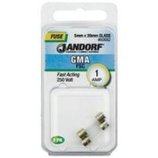 Jandorf Specialty Hardw Fuse Gma 1A Fast Acting 60682