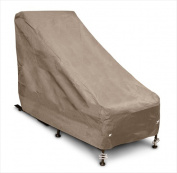 KoverRoos 32650 KoverRoos III Chair & Ottoman Cover Taupe - 28 W x 54 D x 39 H in.