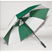 Elite Rain Frankford GF01-FW Fibreglass Golf Umbrella Forest Green and White