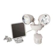 Maxsa Innovations 44218 White Dualhead Securitylight