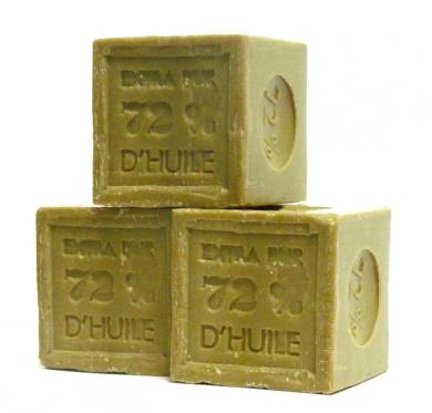Pure vegetable: 3 x 300g Olive Oil Cube Soaps (Savon de Marseille)