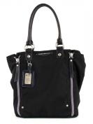 George Gina & Lucy Women's Shoulder Bag Black Deep Black (Schwarz) Breite 34 - 44 cm, Höhe 33 cm, Tiefe 15 cm