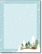 Winter Village Holiday Stationery - 80 Sheets