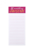 Eccolo World Traveller Magnet List Notepad, Do Something Awesome