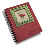Christmas, The Holiday Journal, 25 Years of Memories Hardcover, RED Colour