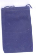 AzureGreen RV46BU 10cm . x 14cm . Bag Velveteen - Blue