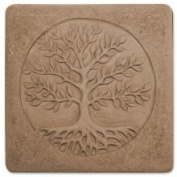 Garden Moulds X-TREE8053 Tree of Life Stepping Stone Mould - Pack of 2