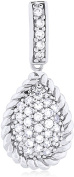 Doma Jewellery MAS01767 Sterling Silver Pendant with CZ