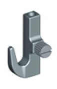 Systematic Art BQNH121 Crane Picture Hanging Side Screw Hook