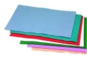 Cpe 22cm x 30cm . Acrylic Classic Soft Decorator Felt Assortment Pack 100