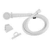 DURA FAUCET DFSA130WT Shower Head & Hose White