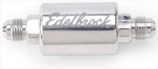 EDELBROCK 8129 Polished Aluminium Fuel Filter