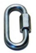 Prime Prodct 180120PK 0.8cm . Trailer Safety Chain Quick Link