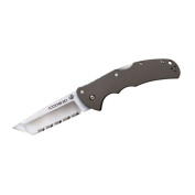 Cold 58TPCTS Code 4 Tanto Point Full Serrations XHP Steel