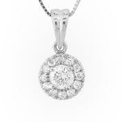 Luis Creations PRL1303 0.40 Ct. Diamond Pendant In 14K Gold
