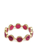 In Things 602012 Marquis Crystal Bangle Fuschia
