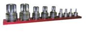 VIM Tools XZNS1000 9 pc. Xzn Stubby Triple Square Drive