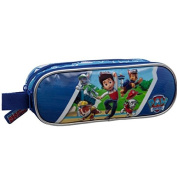 Paw Patrol Action 2 Compartments Beauty Case, 23 cm, 1.45 Litres, Blue
