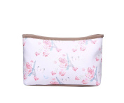 Pink Eiffel Tower and Cherry Blossom Make Up Bag