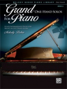 Alfred 00-40159 Grand One Hand Solos For Pno6F14-16 Book