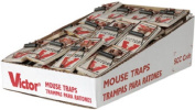 Woodstream M040 Victor Metal Bait Pedal Mouse Trap - Pack Of 72