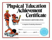 Hayes School Publishing H-VA195CL Certificate Physical Education 30 Pack