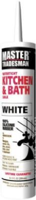 Momentive Perform Material MT712A 300ml Kitchen & Bath Caulk White