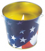 Lamplight Farms 1412122 470ml Citronella Metal Flag Bucket
