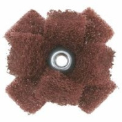 Merit Abrasives 481-08834188585 Very Fine Cross Buff 2.5cm - 1.3cm . x 1.3cm .