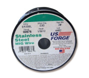 US Forge 676 Welding Stainless Steel MIG Wire 0.030