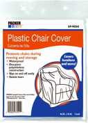Schwarz Supply SP-9050 120cm x 190cm . Plastic Chair Covers 2 Pack