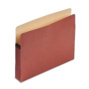 Esselte Pendaflex Corp. E1524E 100% Recycled Paper Expansion File Pocket 3 1/2 Expansion Letter Red Fibre