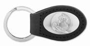 ZeppelinProducts FSU-KL6-BLK FSU Leather Key Fob Black