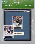 Candlcollectables 67LBRAVENS NFL Baltimore Ravens Party Favour With 6 x 7 Mat and Frame