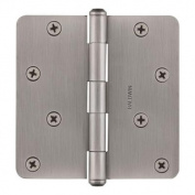 Baldwin 9BR7026-005 10cm . x .60cm . Radius Matte Antique Nickel Hinge