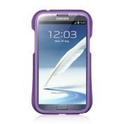 DreamWireless BPCRSAMNOTE2BKPP for Samsung Galaxy Note 2 Bumper Case Black And Purple