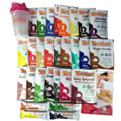Slim & Save VLCD Taster Pack - 1 Weeks Supply of Simplicity Plan with 28 different flavours + Shaker, Brochure & Tape Measure for Women.