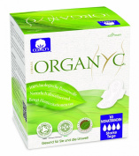 Organyc Night-Time Sanitary Towels with Wings - 100% Organic Cotton, 4-Pack