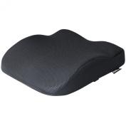 Hardcastle Black Memory Foam Seat Support Cushion