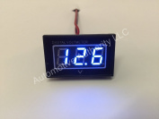 Automotive Authority LLC® 12V 12 Volt Digital Marine Trolling Motor Battery Indicator Charge Status Power Metre - BLUE