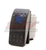 STV MOTORSPORTS® Blue Rocker Switch ON-ON-OFF 20A 12V LED Light 3 Positions