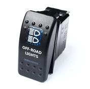 Bandc Blue Offroad Lights Rocker Switch Arb Driving Light Lightforce Gu Gq 80 fits Nissan