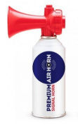 Air Horn for Boating, Sports, Safety. Loud & Effective Boat Signal & Shoreline Marine USCG Rated - Appropriate for Any Purpose - Non-Flammable, Ozone Safe. 240ml