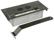 New stainless steel Firebox 750ml include pusher and ceramic sponge