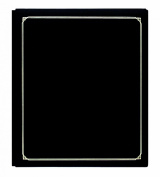 Pioneer FTM15BK Family Treasures Deluxe 30cm by 38cm Memory Book with Fabric Cover, Black