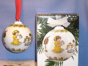 Hutschenreuther 1987 Christmas Bell Decoration Porcelain