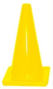 Olympia Sports CO081P 30cm . Traffic Cone - Yellow