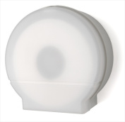 E-Z Taping System RD0026-03 23cm . Single Jumbo Roll Bath Tissue Dispenser in White