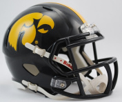 Creative Sports Enterprises Inc RC-IOWA-MR-Speed Iowa Hawkeyes Riddell Speed Mini Football Helmet
